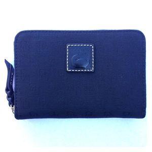 Dooney & Bourke Monogram Black Zip-around Wallet